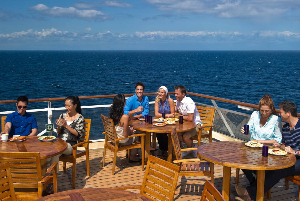 Aft Deck, Celebrity Constellation