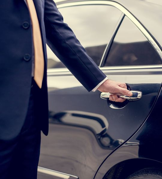 Airport transfer chauffeur service with The Luxury Holiday Company