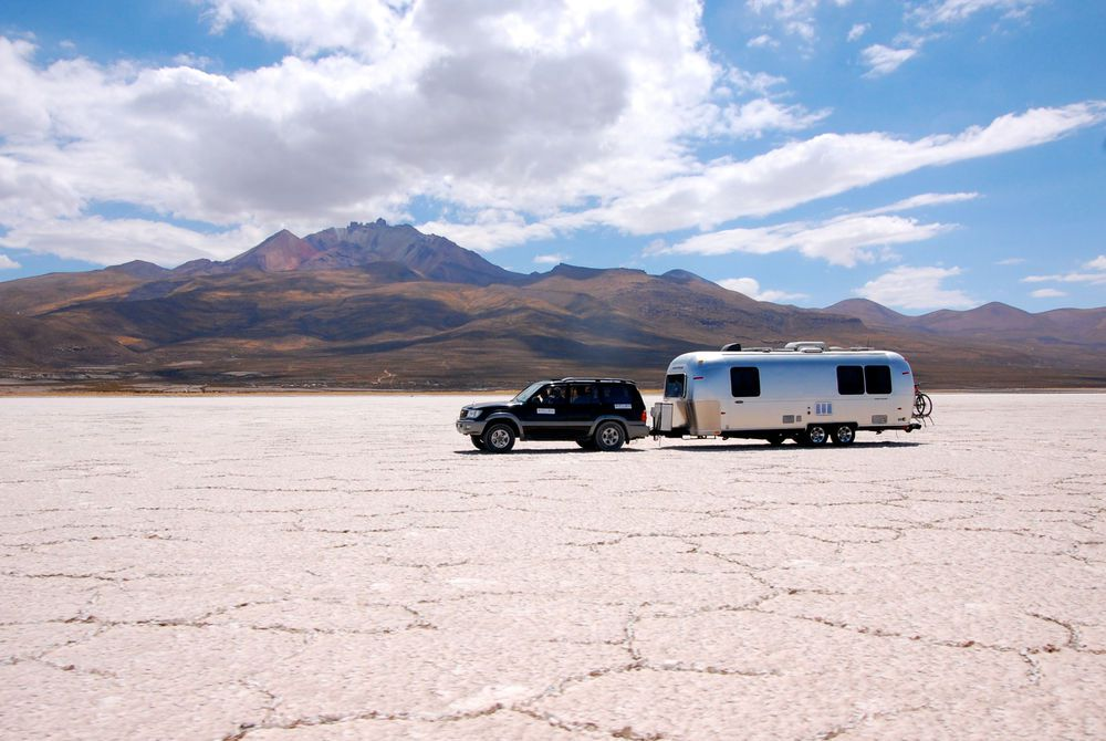 Airstream Deluxe Campers, Uyuni