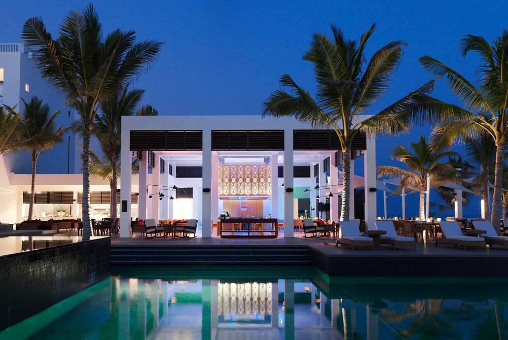 Al Mina restaurant, Al Baleed Resort Salalah by Anantara, Oman