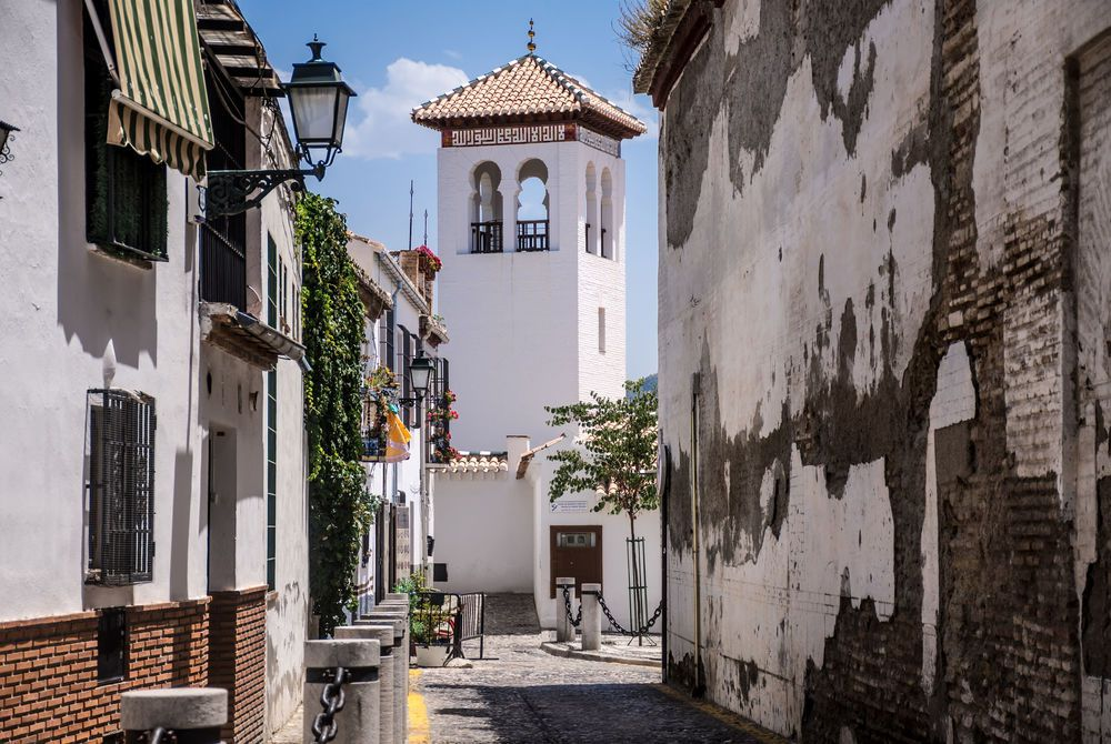 Albaicin Neighbourhood, Granada, Spain