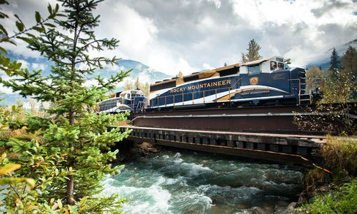 Albert Canyon - Rocky Mountaineer