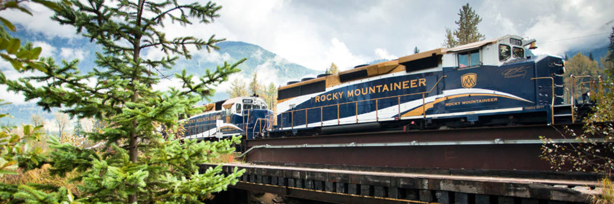 Rocky Mountaineer Rail and Cruise