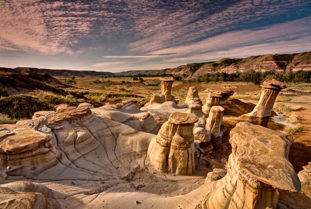 Badlands of Alberta, Canada