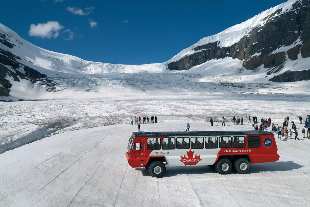 Ice Explorer, Athabasca Glacier