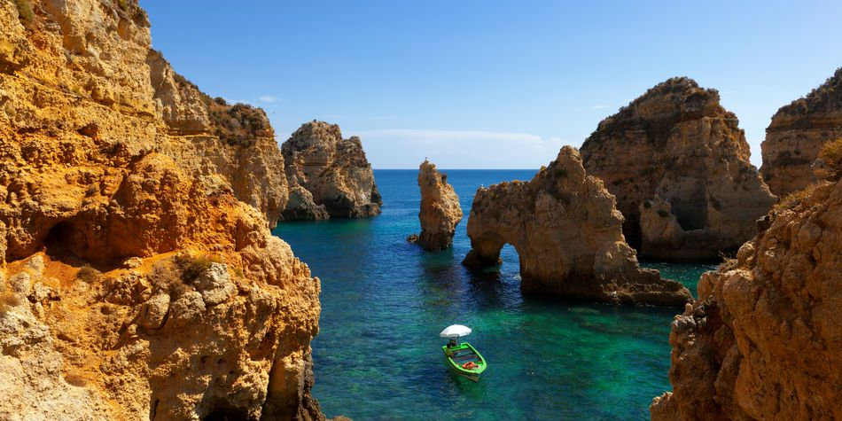 algarve portugal coast