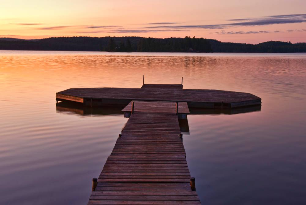 Algonquin Provincial Park at sunrise