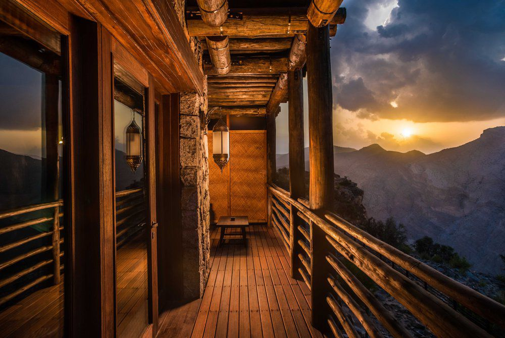 Mountain View balcony, Alila Jabal Akhdar