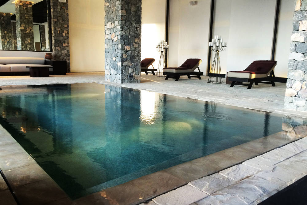 Indoor Pool, Alila Jabal Akhdar