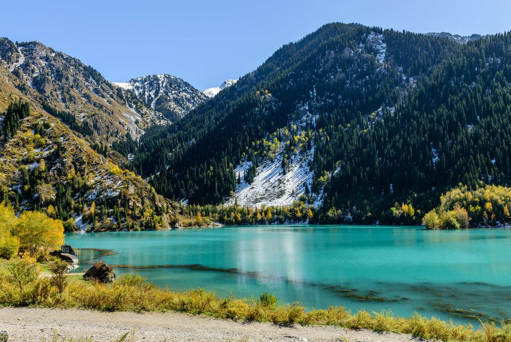 Alpine Lake, Issyk Gorge, Almaty