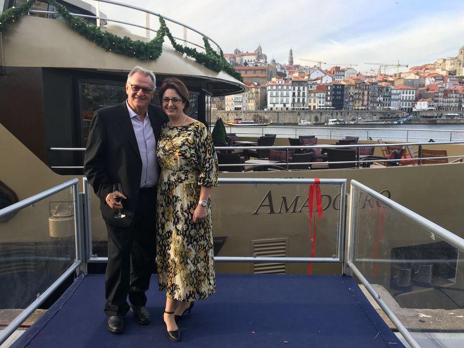 Rudi Schreiner and Julia Lo Bue-Said on AmaDouro