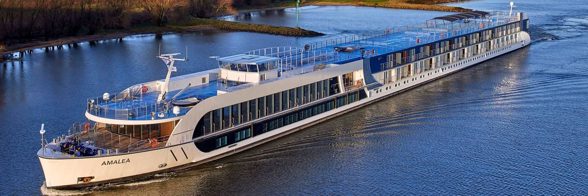 Amawaterways Celebrates Amamora Christening