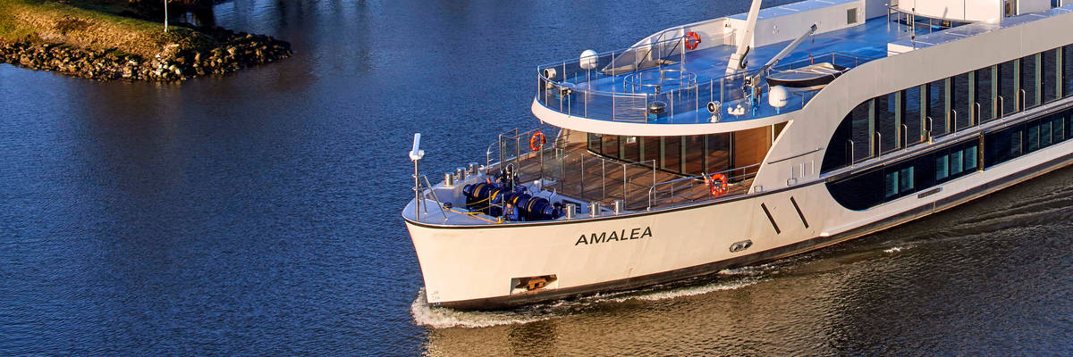 AmaLea Sets Sail on Maiden Voyage