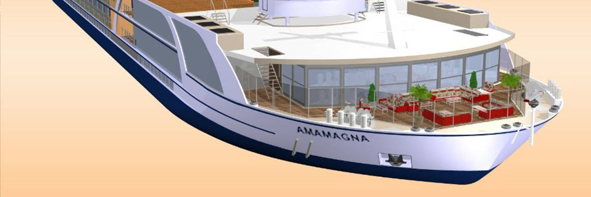 Amawaterways to launch revolutionary new river cruise ship