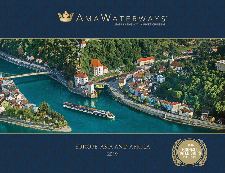 AmaWaterways 2019 river cruise brochure