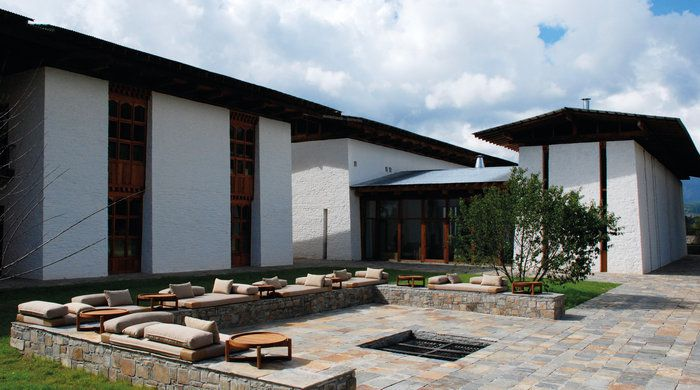 Courtyard and Exterior, Amankora Bumthang