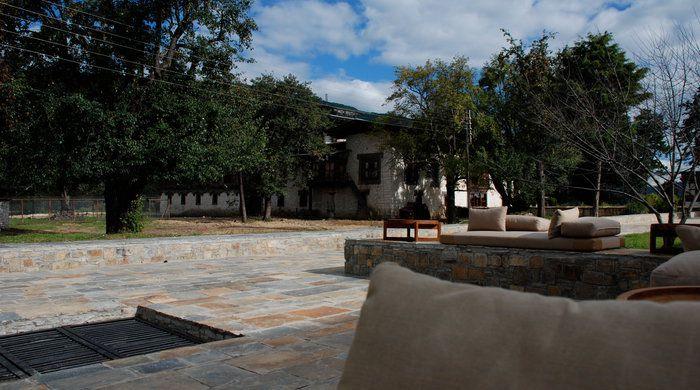 Courtyard, Amankora Bumthang