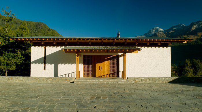 Entrance, Amankora Paro