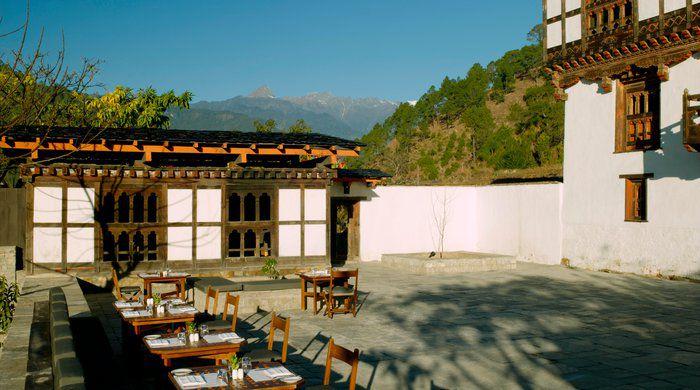 Courtyard, Amankora Punakha