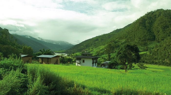 Location, Amankora Punakha