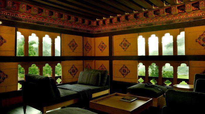 Relaxation Area, Amankora Punakha