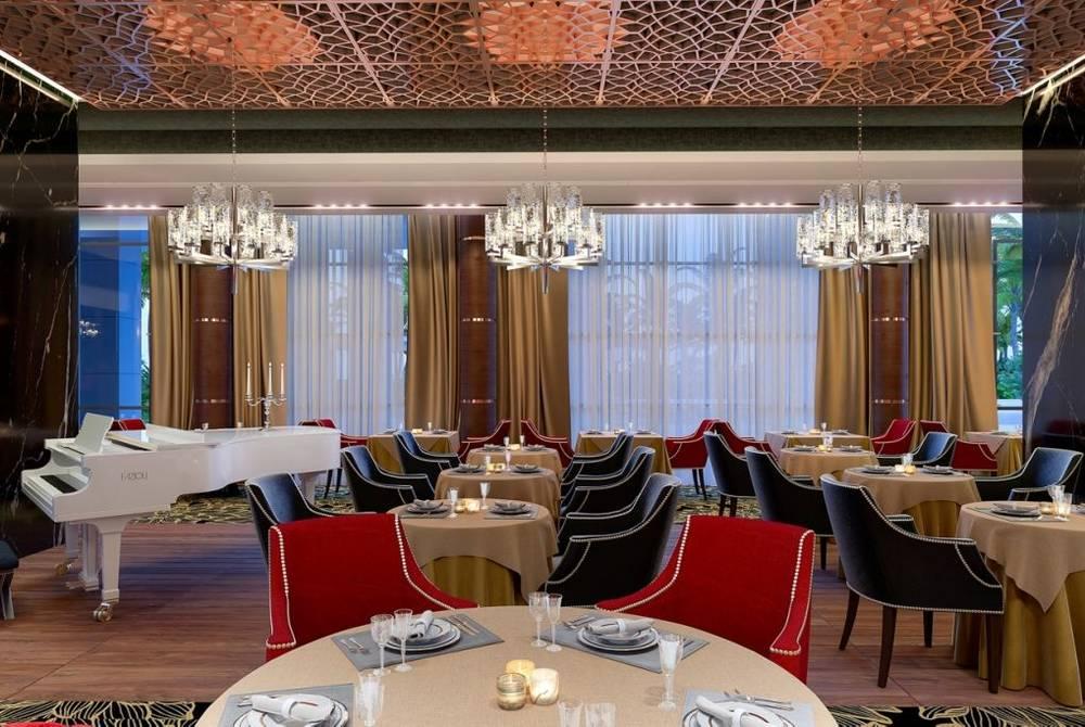 Restaurant, Amavi Hotel