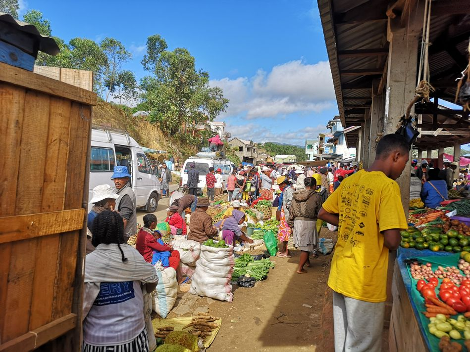 Ambalavao market, Madagascar