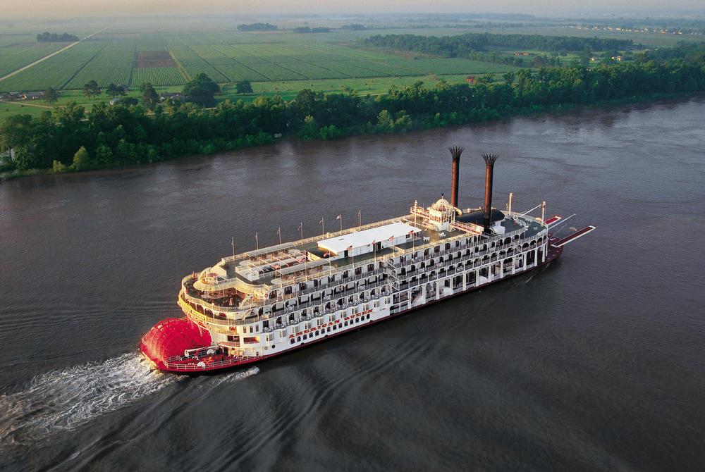 The American Queen, Mississippi River, USA