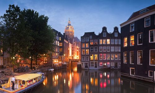 Picture of Amsterdam to London