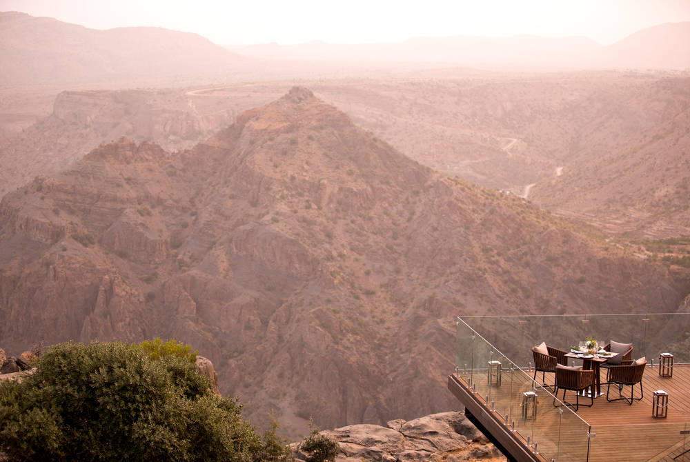 Diana's Point, Anantara Al Jabal Al Akhdar Resort