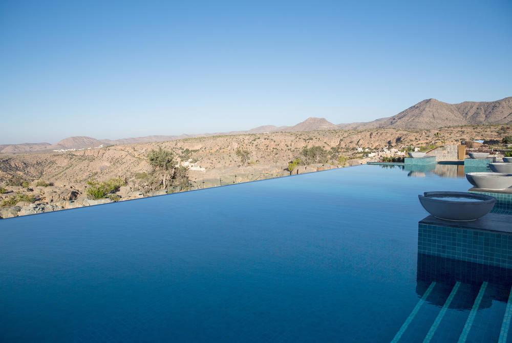 Infinity pool, Anantara Al Jabal Al Akhdar Resort