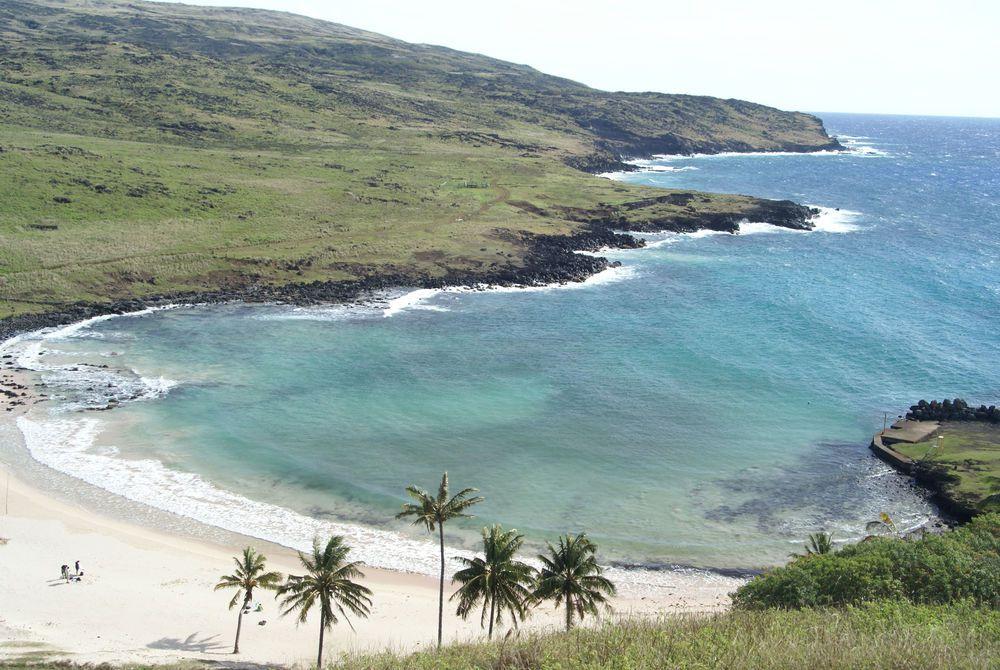 Anekena Beach, Easter Island (Rapa Nui)