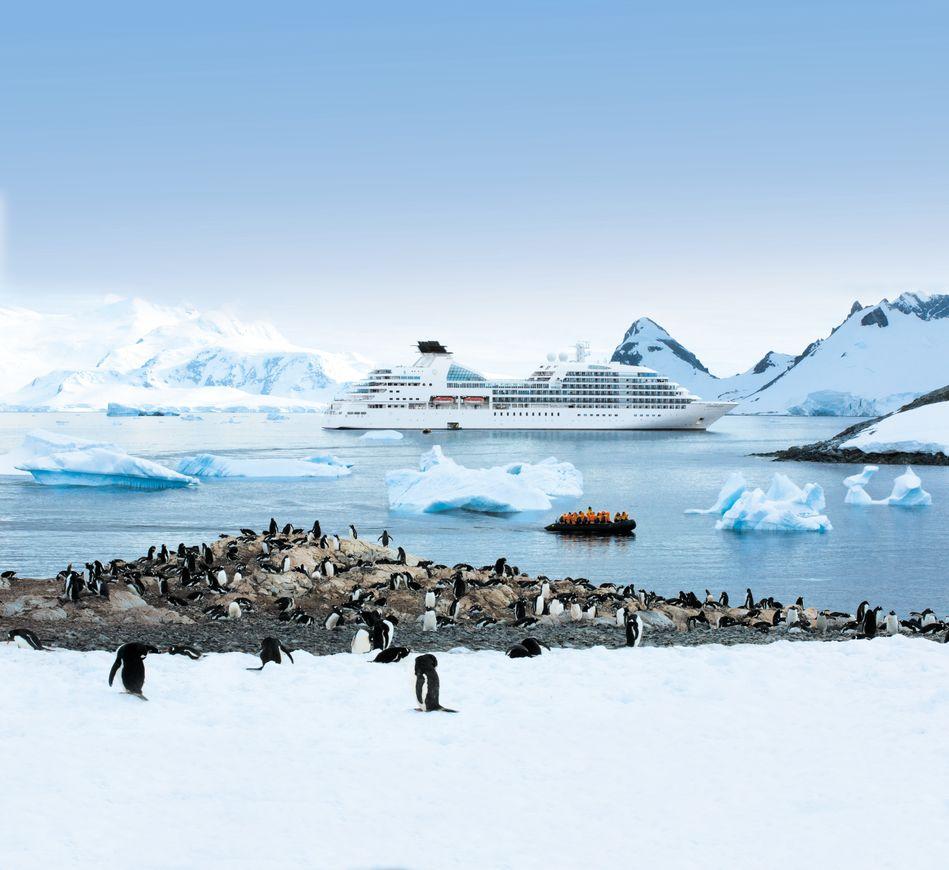 Seabourn in Antarctica