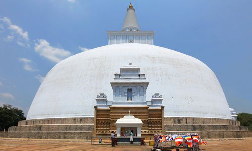 Anuradhapura, Dagoba Ruvanvelisaya, Sri Lanka