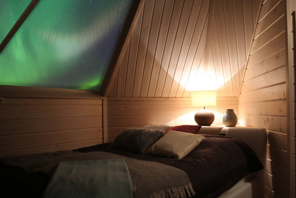 Aurora dome, Apukka Resort, Finnish Lapland