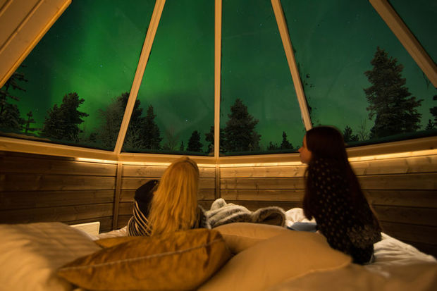 Northern Lights break at Apukka Resort
