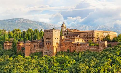 Alhambra Fortress, Granada