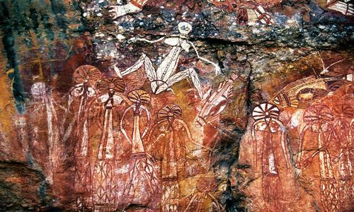 Arboriginal Rock Art, Kakadu National Park, Australia