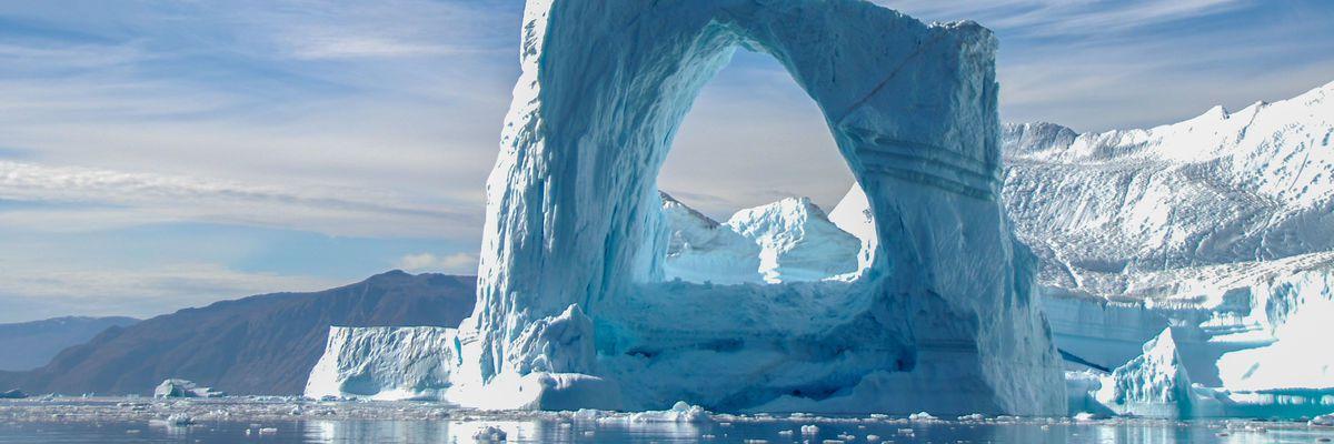 Arch iceberg, Greenland