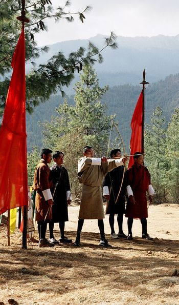 Archery in Paro, Bhutan