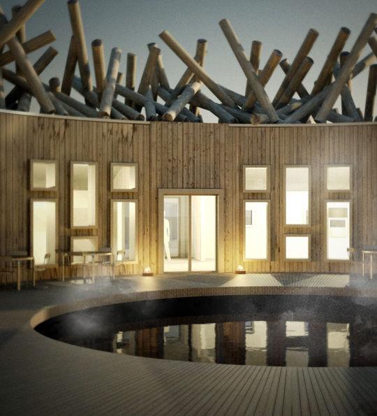 Arctic Bath (artist's impression)