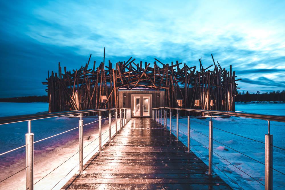 Northern Lights at Arctic Bath & Treehotel