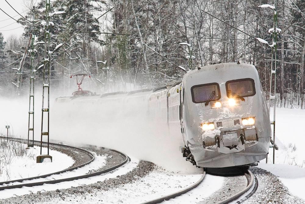 Arctic Circle Train, Sweden