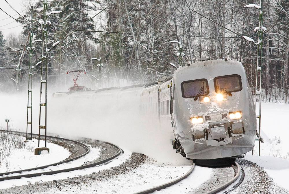 Arctic Circle Train, Sweden
