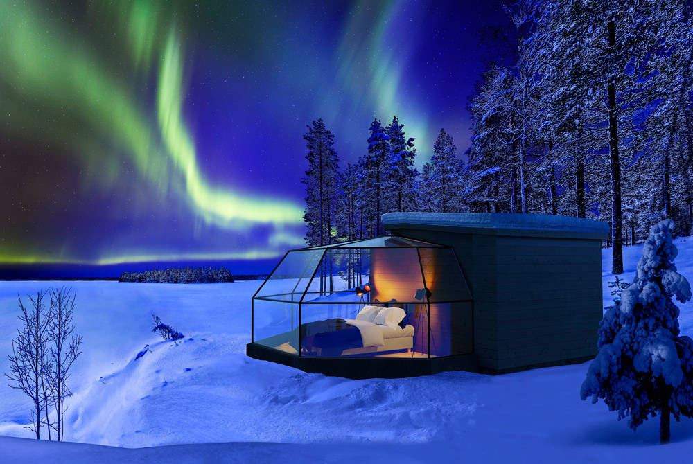 Arctic Fox Igloos, Finnish Lapland
