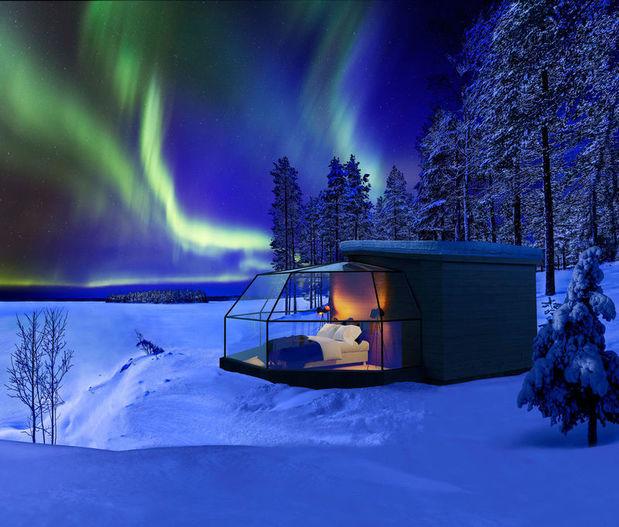 Finland S Best Glass Igloos And Aurora Hotels Best