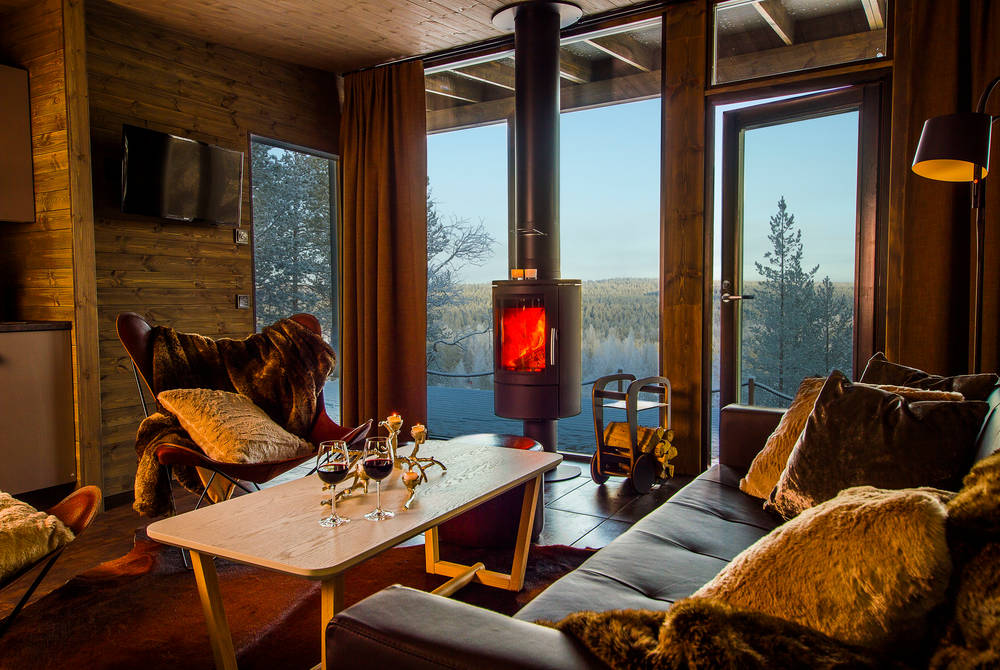Arctic Glass House Lounge, Arctic TreeHouse Hotel