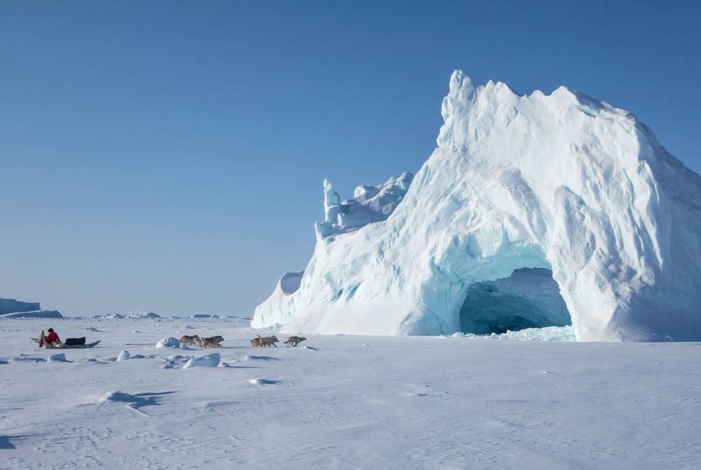 Icebergs, Svalbard, Ponant