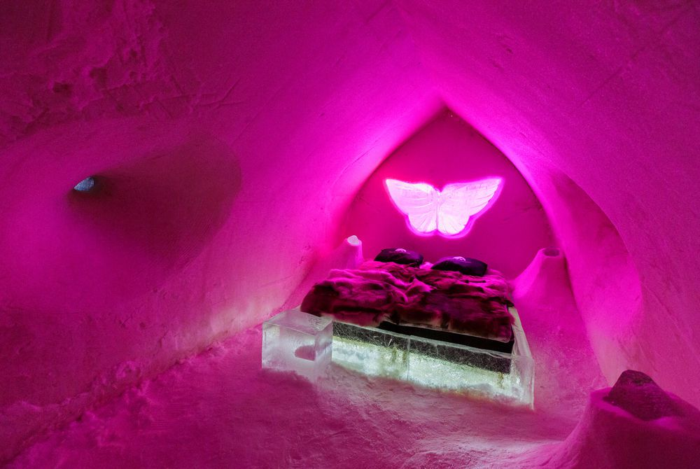 Suite, Arctic SnowHotel and Glass Igloos, Finnish Lapland