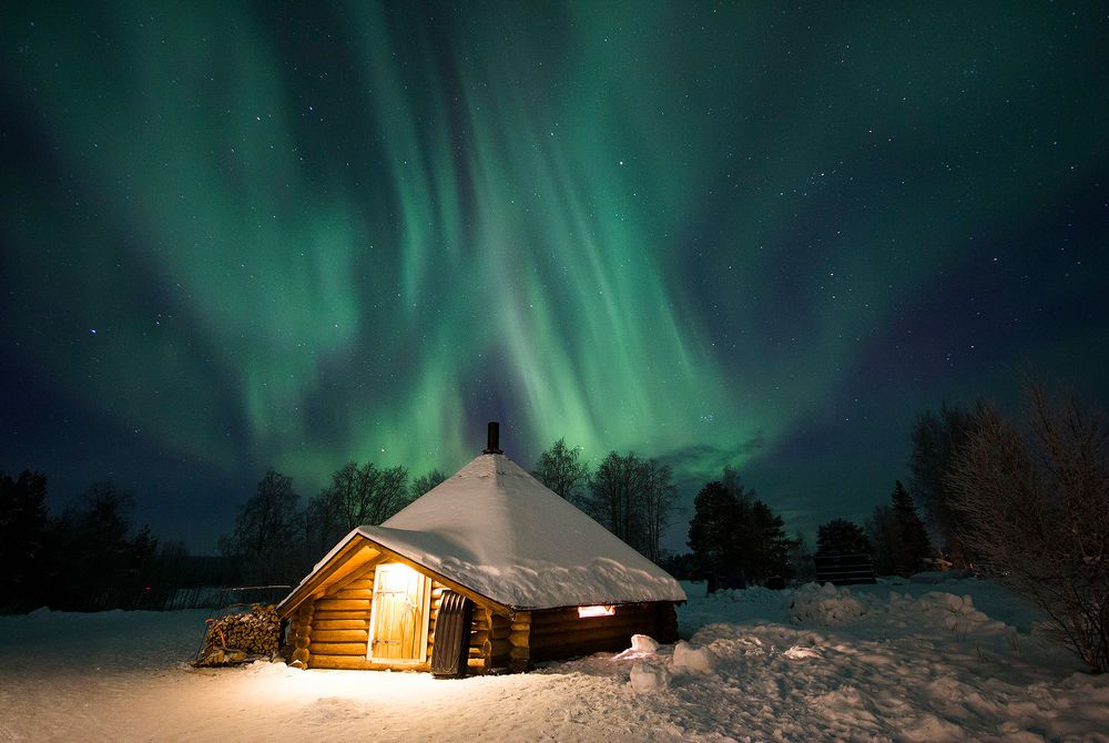 arctic snowhotel and glass igloos finnish lapland